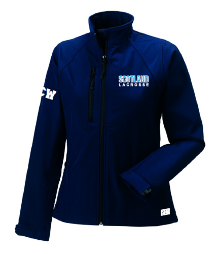 Scotland Lacrosse Womens Softshell Jacket