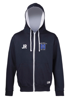 High Lane CC Childrens Navy Zip Up Hoody