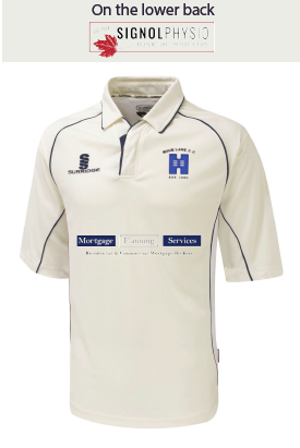 High Lane CC Childrens Surridge 3/4 Playing Shirt