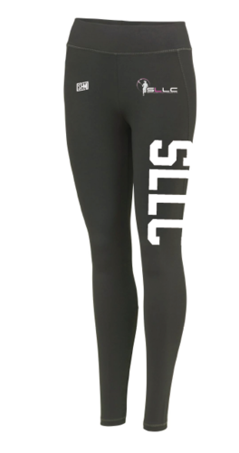 Southampton Ladies Lacrosse Black Leggings (All Print)
