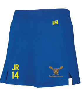 Shropshire Girls Lacrosse Royal Blue Skort (no number applicable)