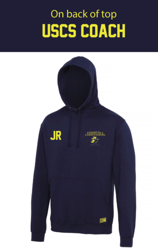 UCLan Navy Womens Coach Hoody