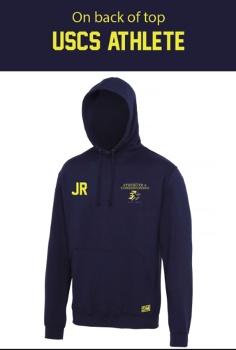 UCLan Navy Womens Athlete Hoody