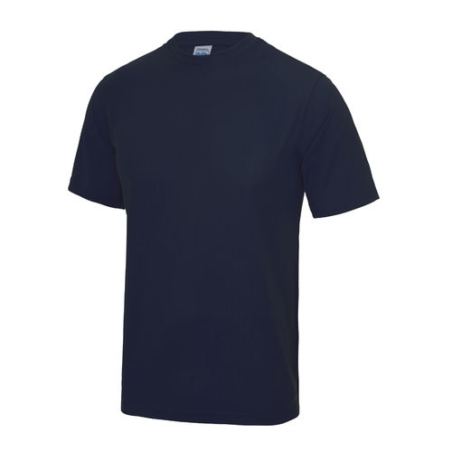 UCLan Navy Mens Athlete Performance Tee (Same As Coach Design)