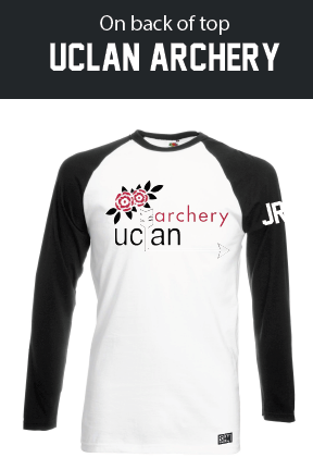 UCLan Archery Unisex Long Sleeved Cotton Tee
