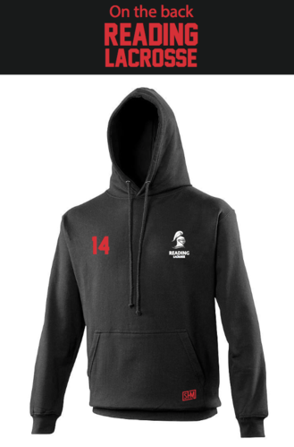 Reading Lacrosse Black Mens Hoody (Not Mixed)