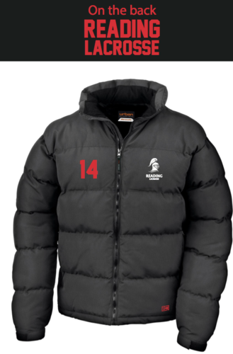 Reading Lacrosse Black Mens Puffa (Not Mixed)