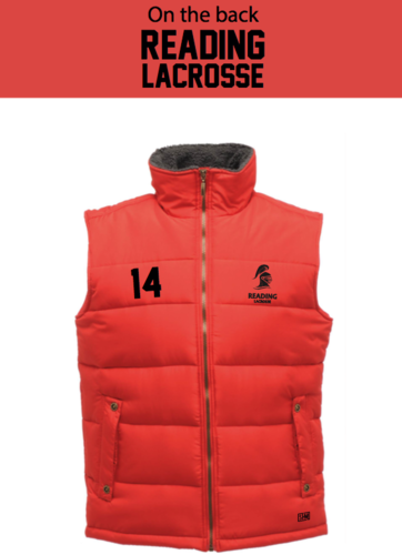 Reading Lacrosse Red Womens Body Warmer (Not Mixed)