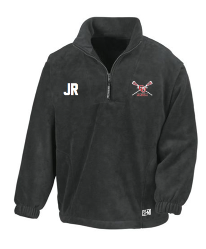 Cardiff University Lacrosse Charcoal Unisex Fleece (All Embroidery)