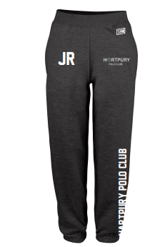 Hartpury Polo Black Womens Sweatpants (Logo Embroidery, Everything Else Print)