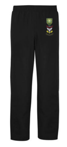 Mersey Cheadle Cricket Black Womens Trackies (All Embroidery)