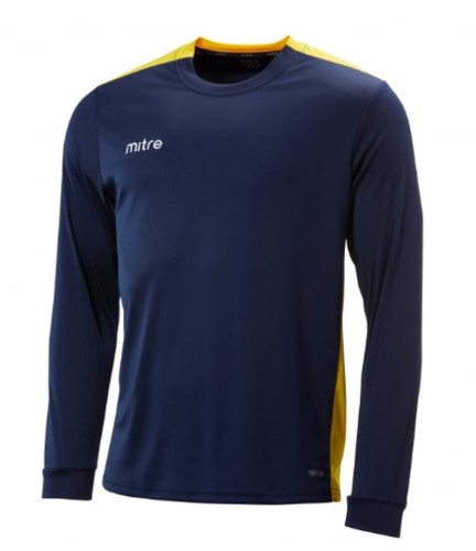St Josephs Charge Navy/Yellow Junior Shirt With Logo