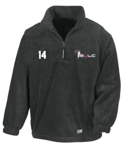 Southampton Lacrosse Black Unisex Fleece (All Embroidery)