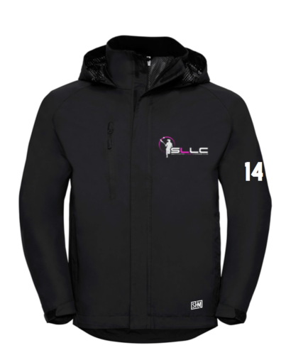 Southampton Lacrosse Black Womens Hydroplus Softshell (All Embroidery)