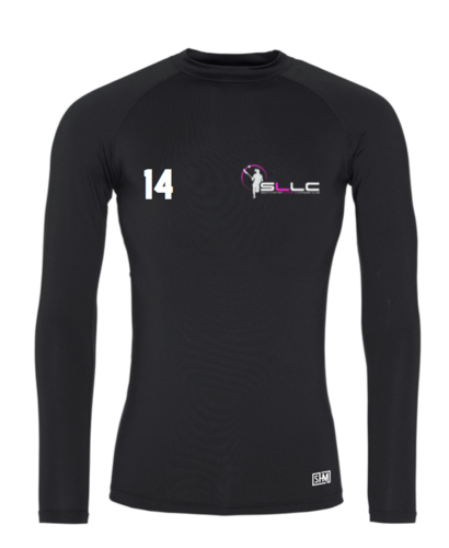Southampton Lacrosse Black Womens Baselayer (All Print)