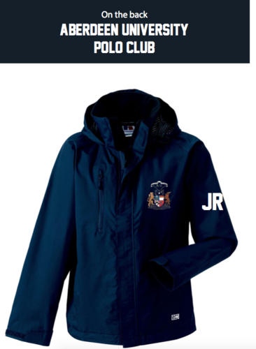 Aberdeen Polo Navy Mens Hydroplus Jacket (Logo Embroidery, Everything Else Print)