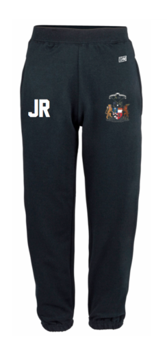 Aberdeen Polo Navy Mens Sweatpants (Logo Embroidery, Everything Else Print)