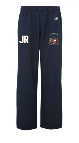 Aberdeen Polo Navy Womens Trackies (Logo Embroidery, Everything Else Print)