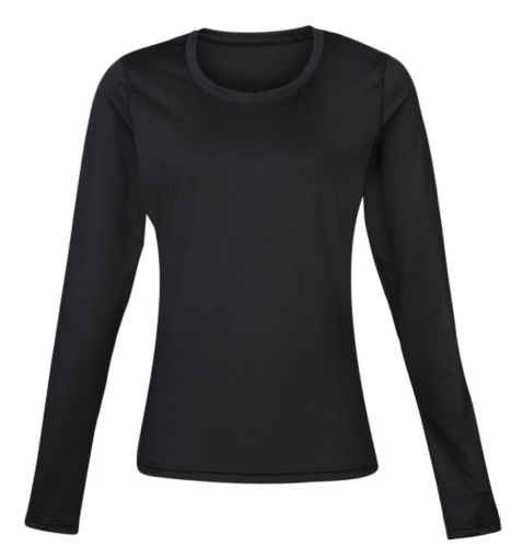 Cheshire Lacrosse Womens Black Baselayer (Cheshire Lacrosse Up Right Arm) (All Print)
