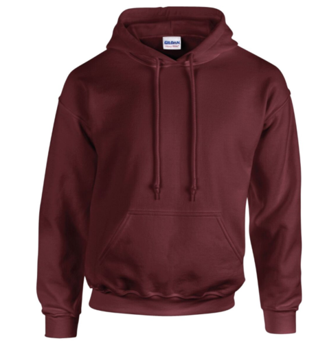 Cheshire Lacrosse Junior Maroon Hoodie (Logo Left Breast & Cheshire Lacrosse On Back) (All Print)