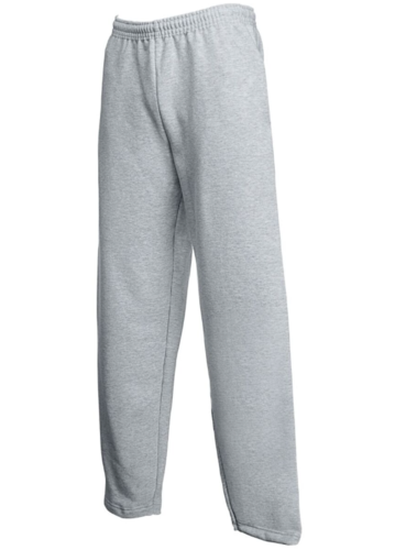 Cheshire Lacrosse Heather Grey Junior Sweatpants (Logo Left Thigh & Cheshire Lacrosse Up Right Leg)