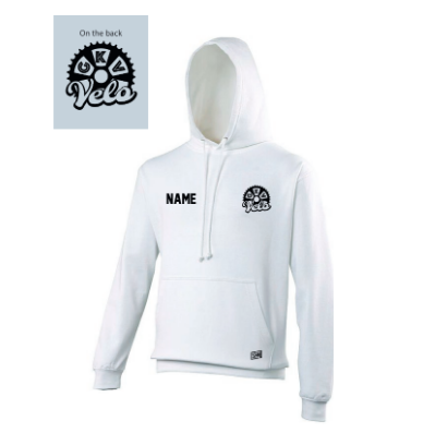 GKV Velo White Junior Hoodie (All Print)