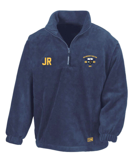 Hull Uni Boat Unisex Navy Fleece (All Embroidery)