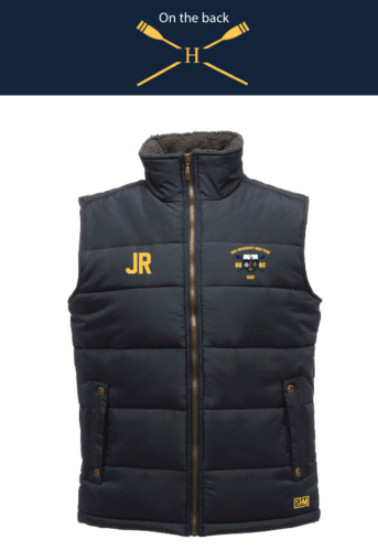 Hull Uni Boat Unisex Gilet (Logo Embroidery, Everything Else Print)