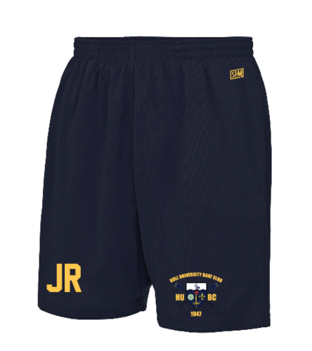 Hull Uni Boat Navy Unisex Shorts (All Print)