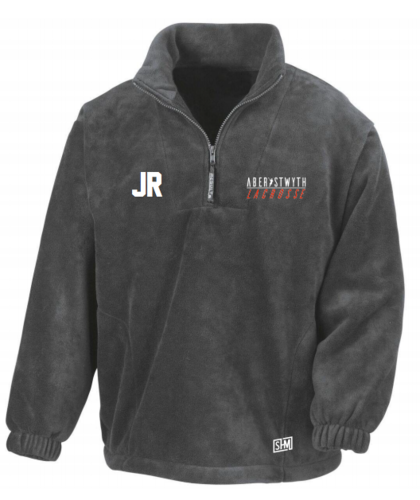 Aberystwth Lacrosse Charcoal Grey Unisex Fleece (All Embroidery)