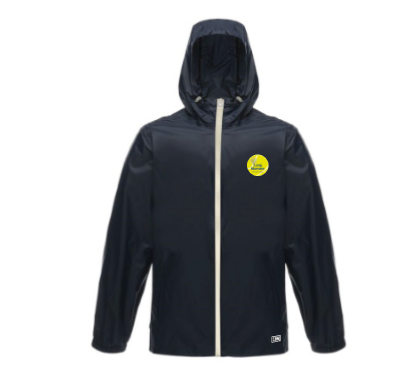 Long Marston Tennis Navy & Waterproof Jacket (All Embroidery)