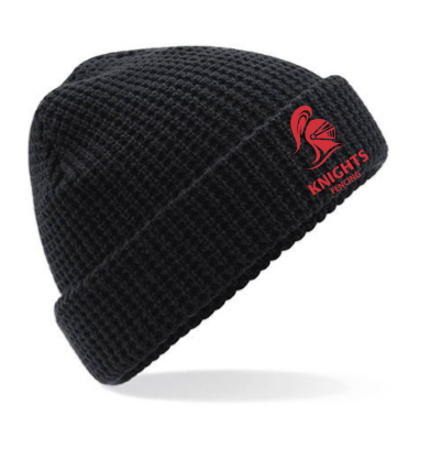 Reading University Fencing Black Beanie (All Embroidery)