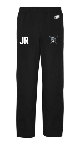 Aberdeen Rowing Black Womens Trackies (Logo Embroidery, Everything Else Print)