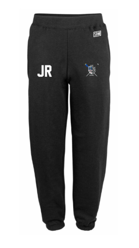 Aberdeen Rowing Black Womens Sweatpants (Logo Embroidery, Everything Else Print)