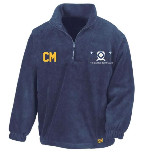 Gorse Rowing Navy Unisex Fleece (All Embroidery)
