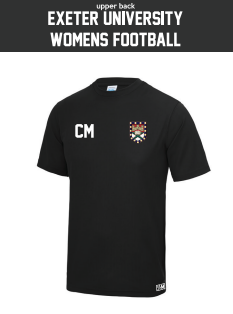 Exeter Uni Womens Football Performance Tee (All Print)