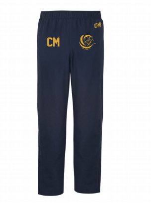 Surge Gymnastics Navy Womens Trackies (Logo Embroidery, Everything Else Print)