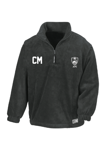 James College Football Black Unisex Fleece (All Embroidery)