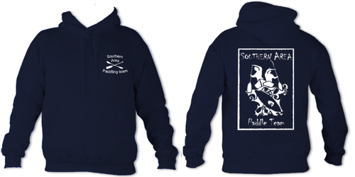 Southern Area Paddle Team Navy Unisex Hoodie (All Print)