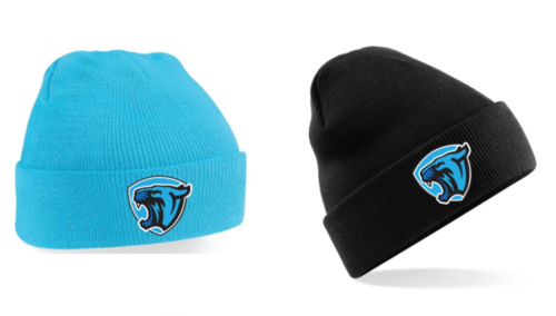 Cheltenham Lacrosse Blue Beanie (All Embroidery)