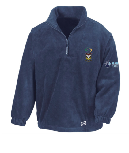 Mersey Cheadle Cricket Navy Unisex Fleece (All Embroidery)