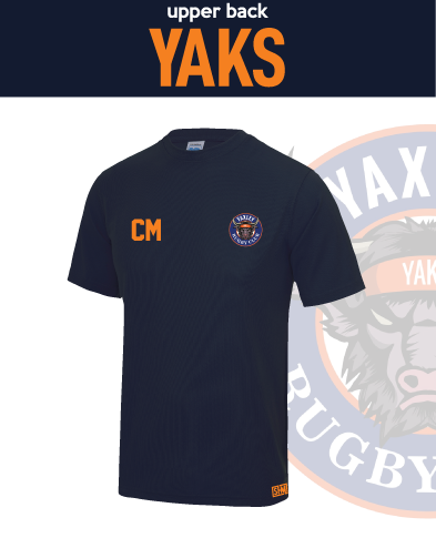 Yaxley Rugby Navy Womens Performance Tee (All Print)