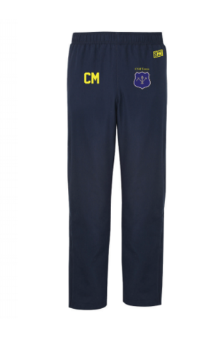 CSM Tennis Navy Mens Trackies (Logo Embroidery, Everything Else Print)