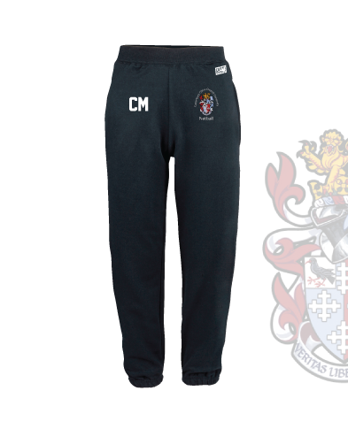 CCCU Netball Navy Womens Sweatpants (Logo Embroidery, Everything Else Print)