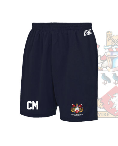 Kent University Anthropology Navy Unisex Shorts (All Print)