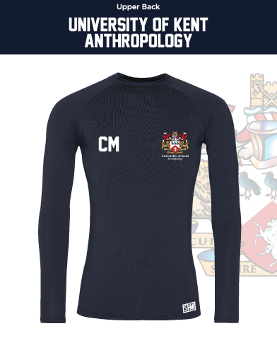 Kent University Anthropology Navy Mens Baselayer (All Print)