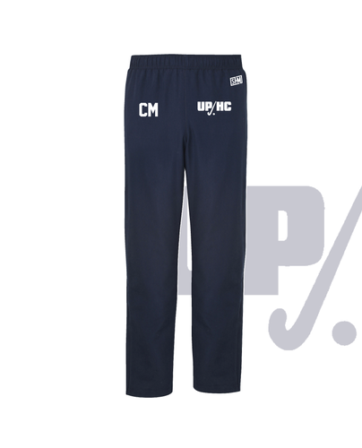Plymouth University Hockey Navy Womens Trackies (Logo Emb, Everything Else Print)