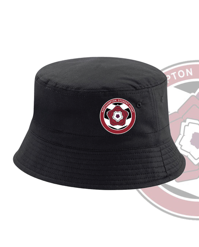 University Of Northampton Womens Lacrosse Black Bucket Hat (All Embroidery)