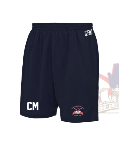 University Of Plymouth Cricket Unisex Shorts (All Print)