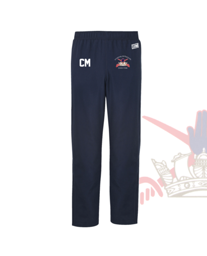 University Of Plymouth Cricket Navy Unisex Trackies (Logo Emb, Everything Else Print)